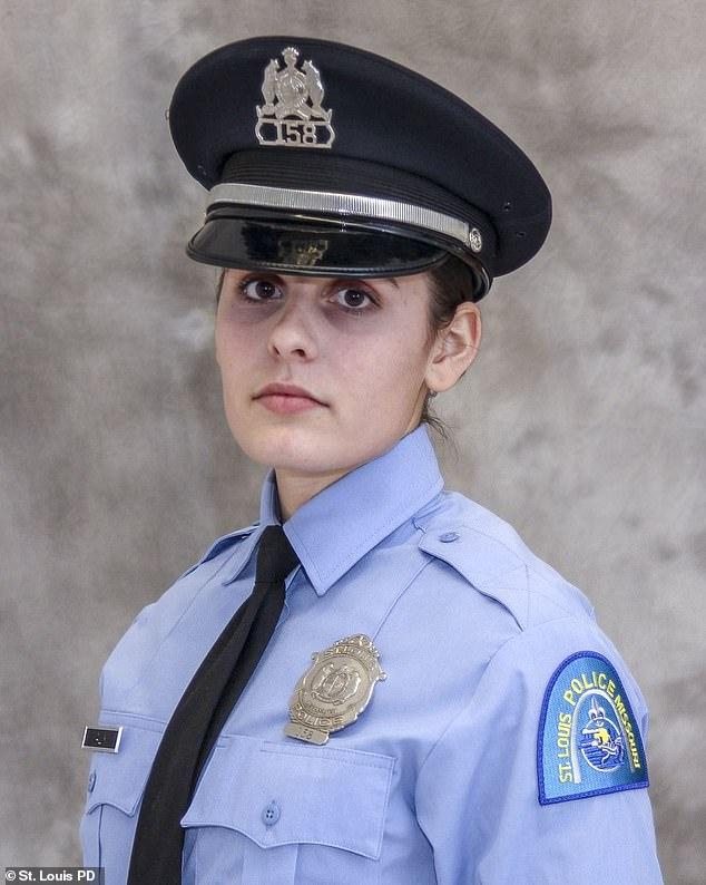St Louis Police Officer Katlyn Alix