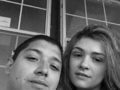 Andrew Fabila and Paige Harkings