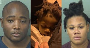 Pictured, Florida parents, Makenson Alexandre and Jolanda Alexandre
