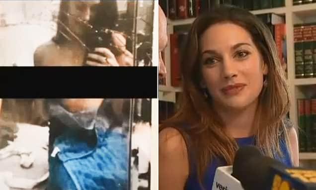 Lauren Miranda topless selfie