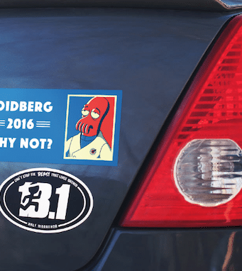 Stickers to Increase Brand Recognition
