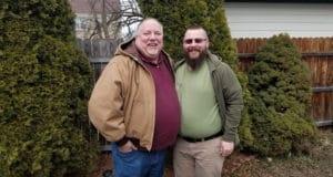 Kevin Kollmann and Merle Malterer