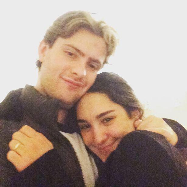 Isaac Roblett and Camila Iglesia