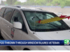 Sacramento passenger impaled by tripod