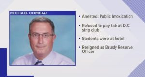 Michael Comeau Holy Family Catholic school principal resigns
