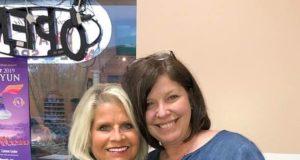 Rebecca Lynn O'Donnell and Sen. Linda Collins-Smith.