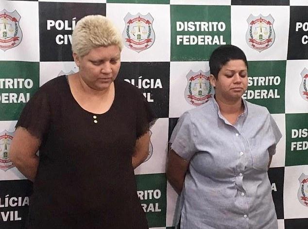 Rosana Candido and Kacyla Pessoa