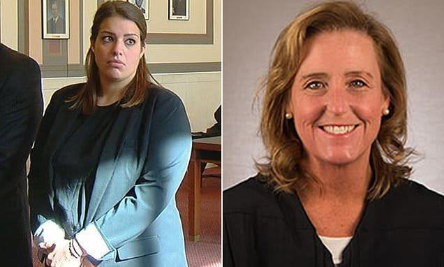 Jennifer Walsh Sycamore teacher and Judge Jody Marie Luebbers