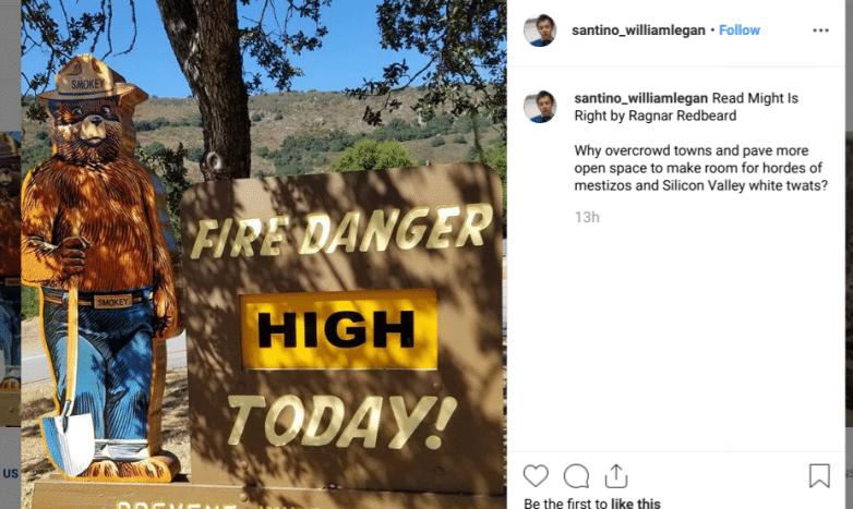 Santino William Legan Instagram