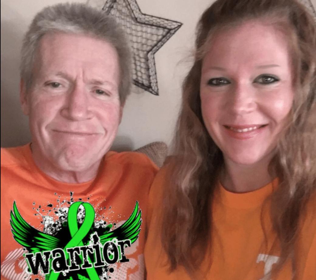 Cheryl Bennett Wiygul and father, Dave Bennett