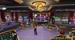 Gambling games consoles