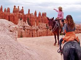 Horse back riding destination