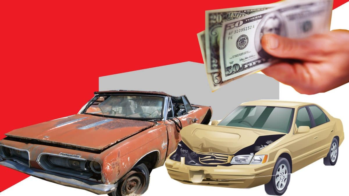 Selling junk cars for cash