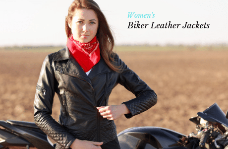 Black leather jacket for travel