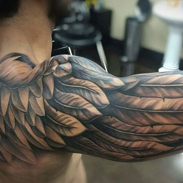 Awesome Tattoos Design Collection For Feet: Best Tattoo Ideas For Men: Most Popular Areas That Men