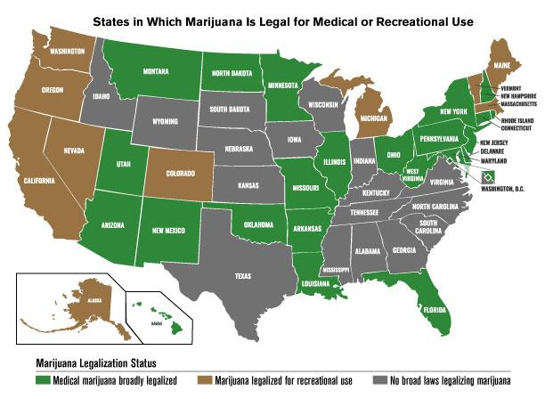How legal is marijuana