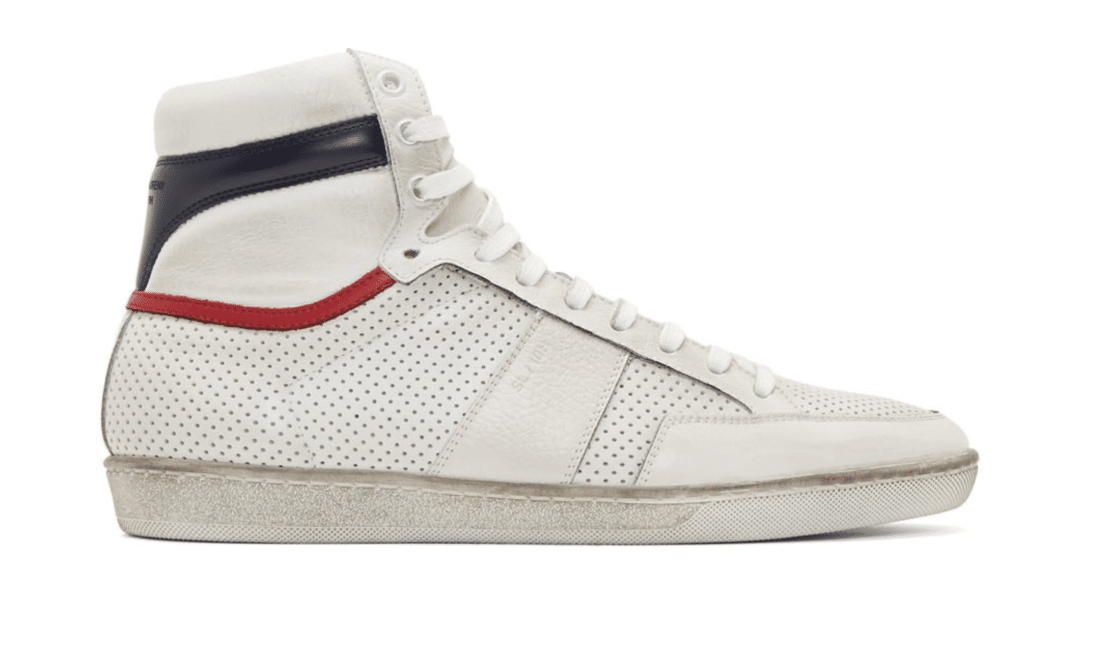 Saint Laurent Designer Sneakers.