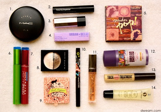 Cosmetics Guide for Travel