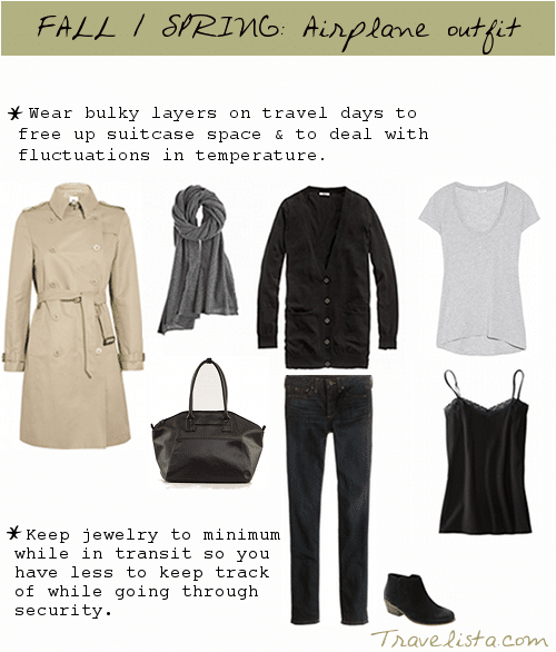Layer it up fashion for travel
