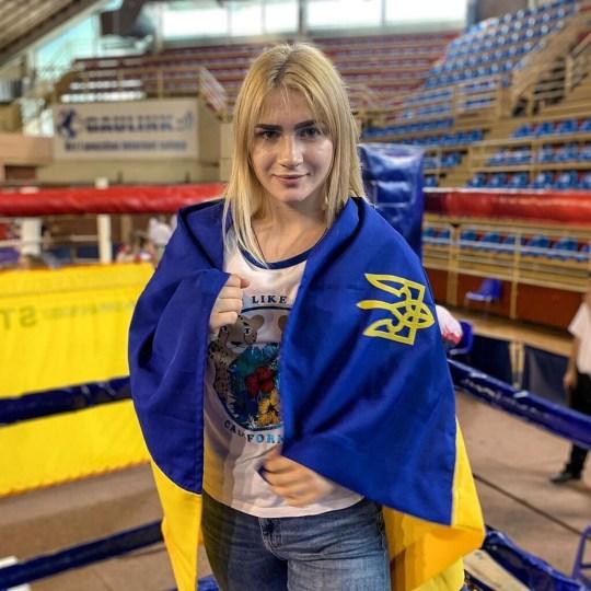 Amina Bulakh Ukraine boxing champion