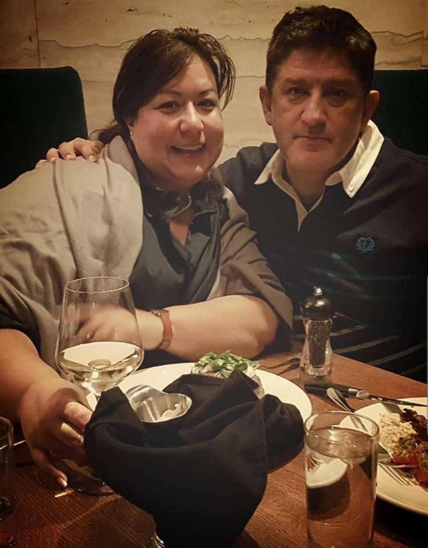 Sylvana Ruggiero and Eddie Bastidas