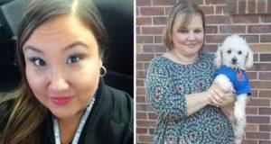Donna Reneau Arkansas 911 operator and Debra Stevens