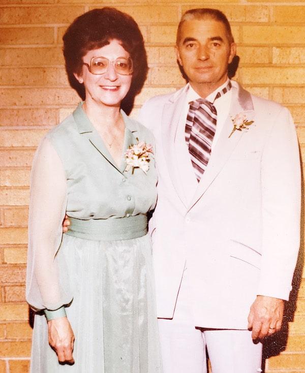 Les and Freda Austin
