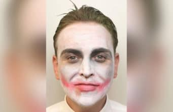 Noel Mooney Derbyshire Joker mugshot