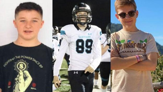 Daniel Hawkins, Drake Ruiz and Jacob Ivascu,