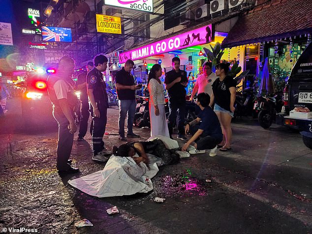 British man killed trying to light New Year's Day fireworks Thailand