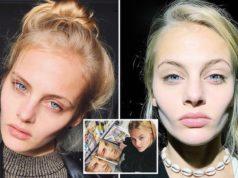Ksenia Puntus Russian Vogue model