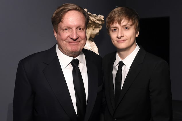 Ron and Andrew Burkle