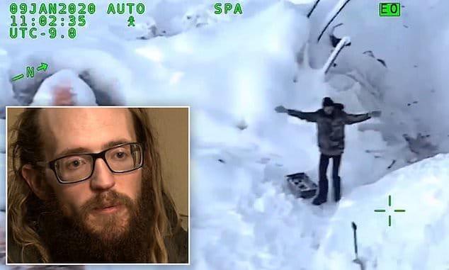 Tyson Steele Utah Alaska stranded