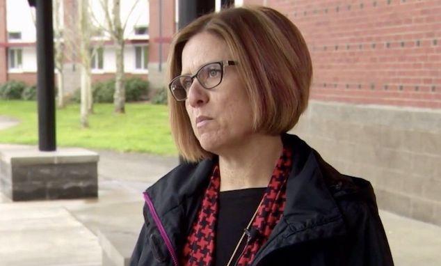Camas High School Principal Liza Sejkora