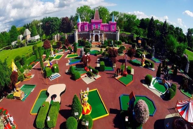 Crazy Golf Courses