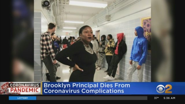 Dezann Romain Brooklyn principal coronavirus