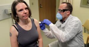 Jennifer Haller covid-19 vaccine volunteer: