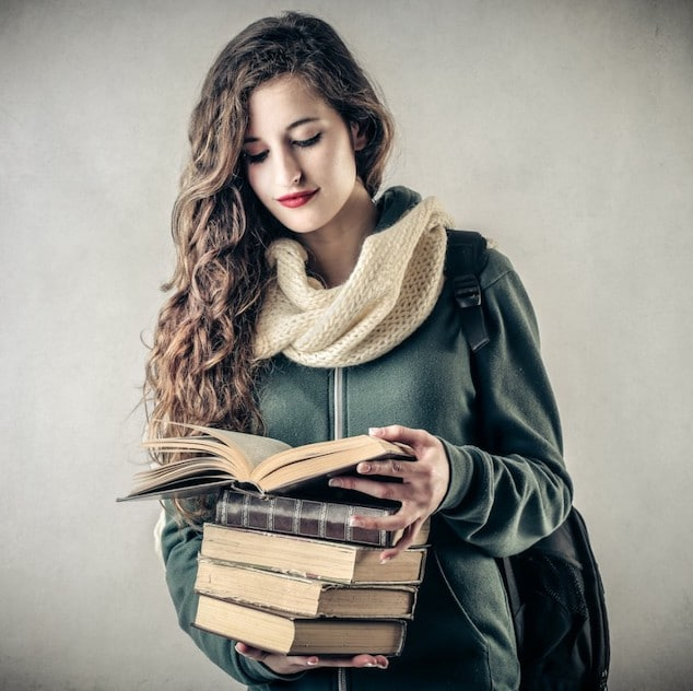 fashionable student
