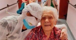 A 104-year-old Italian