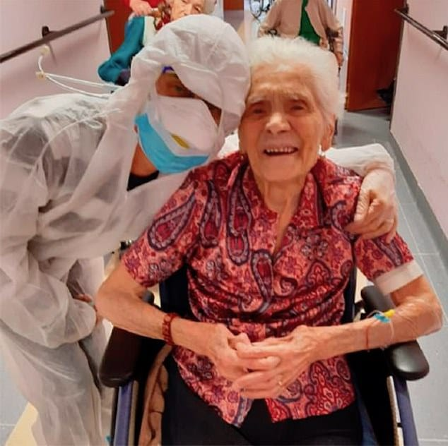 Ada Zanusso 104 year old Italian woman survived COVID-19