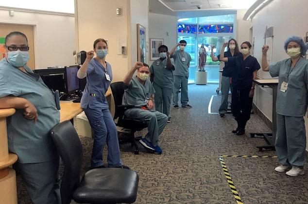 Nurse Mike Gulick