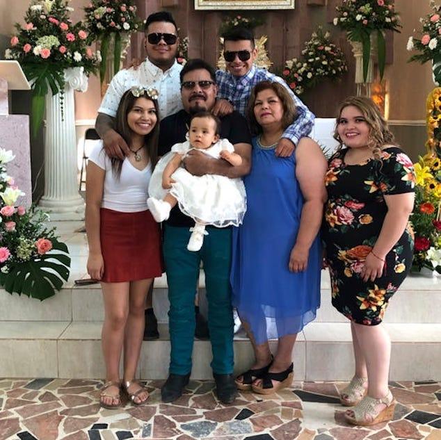 Omar Martinez Iowa City firefighter family