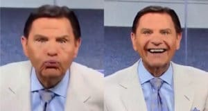 Pastor Kenneth Copeland blow coronavirus away