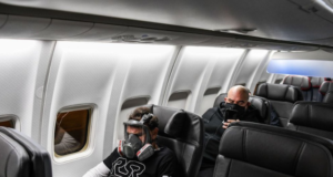 JetBlue coronavirus face mask