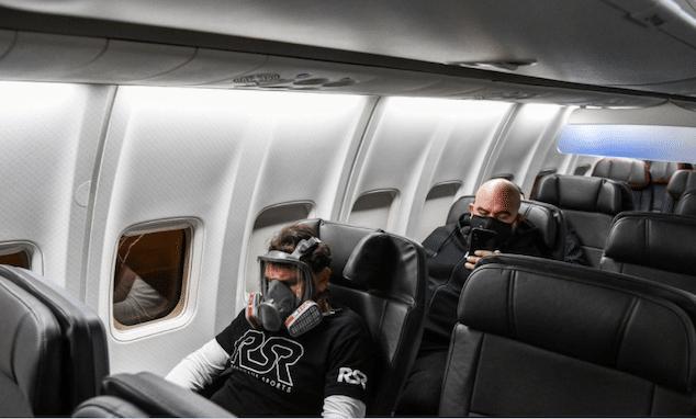 JetBlue coronavirus face mask