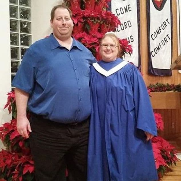Brian Lee Hitchens and Reverend Erin Hitchen