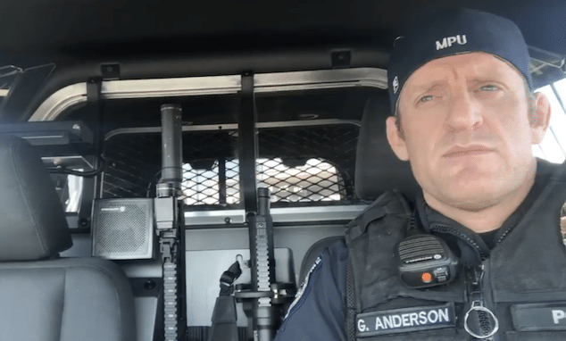 Port of Seattle Police Officer Greg Anderson