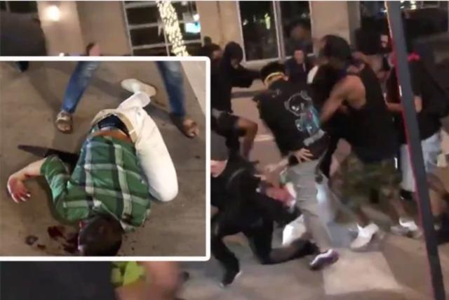 Dallas man with machete beaten