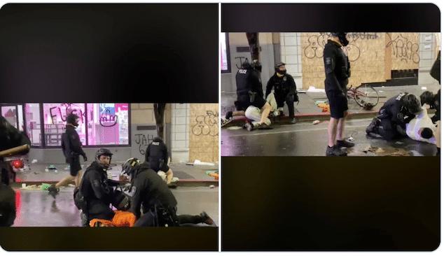 Seattle cop knee videos