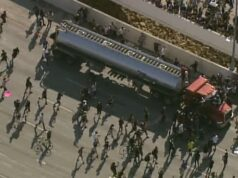 Semi truck speeds into Minneapolis protesters